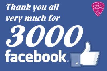 06月20日 – Thank you all very much for 3000 likes!!