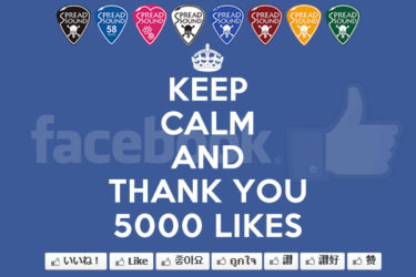 04月01日 – Thank you all very much for 5000 likes!!