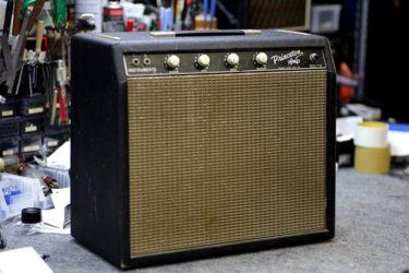 04月01日 – Fender Princeton Amp – スピーカー交換