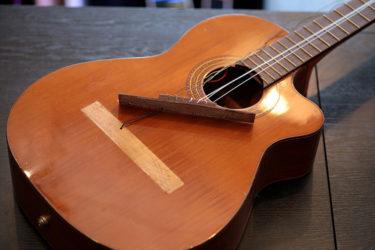 07月18日 – ANTONIO SANCHEZ 3350 クラッシックギター – ブリッジ剥がれ修理