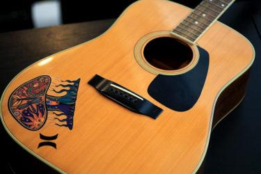 10月28日 – Morris アコースティックギター – ナット交換