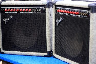 10月31日 – Fender M-80 ギターアンプ – メンテナンス