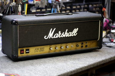 Marshall JCM800 Supre Lead100 – オーバーホール