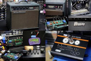 Mesa Boogie Subway Blues – 真空管交換、メンテナンス