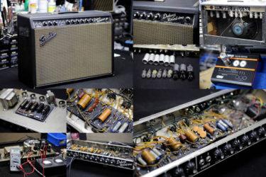 Fender '65 Deluxe Reverb Amp – オーバーホール