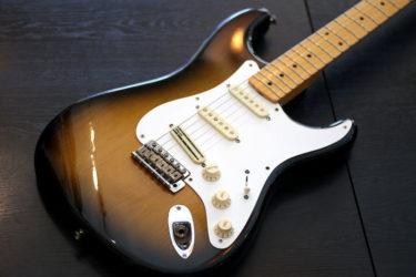 Fender USA American Standard ストラト – ピックガード、ナット、ペグ交換