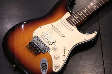 07月28日 – Fender American Deluxe with Floyd Rose – フレット交換