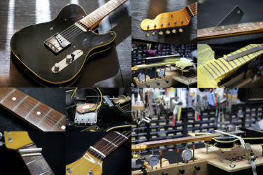 Fender Japan Telecaster – フレットすり合わせ、ナット交換、PU交換
