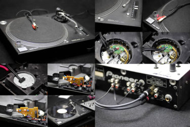 Technics SL1200 mk5 – ケーブル交換、LED交換、メンテナンス