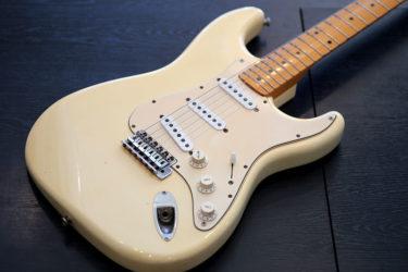 10月13日 – Fender Japan Stratocaster – ナット交換