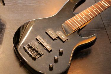 ESP LTD Bass – ネック折れ、フレットレス改造