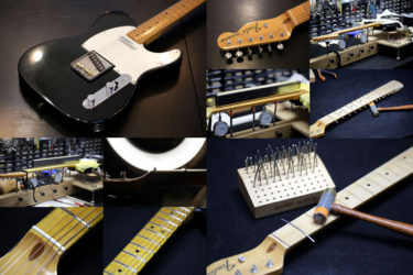 Fender Japan Telecaster – ステンレスフレット交換