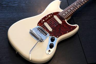 02月11日 – Fender Mustang – PU交換 Van Zandt ST FLAT-POLE
