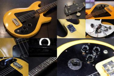 Westminster Ripper Bass RP460N – POT交換、メンテナンス