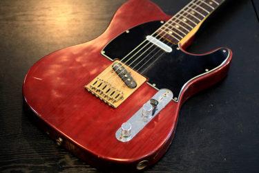 02月03日 – Fender Telecaster – ナット交換、フレット研磨
