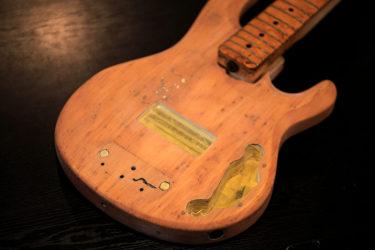 Ernie Ball Musicman Stingray  5弦ベース – 塗装・リフィニッシュ