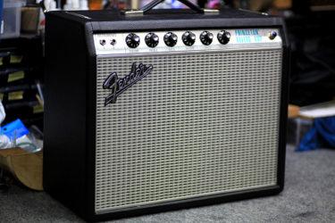 06月02日 – Fender Princeton Reverb – 音量低下 バイアス調整