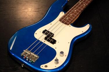 05月24日 – Fender Precision Bass – ピックアップ交換、全体調整