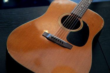 10月16日 – Aria Acoustic Guitar – フレット交換