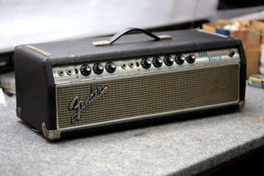 11月16日 – Fender 70's Band-Master Amp – Death Cap & キャビネット
