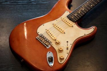 10月23日 – Fender USA Custom Shop – フレット交換+ナット交換