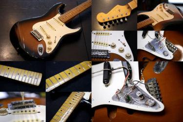 Fender Japan Stratocaster – ポット交換、全体調整