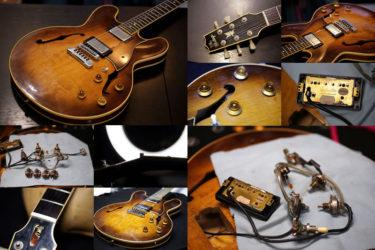 The Heritage Guitars H-540 – POT交換、ナット交換
