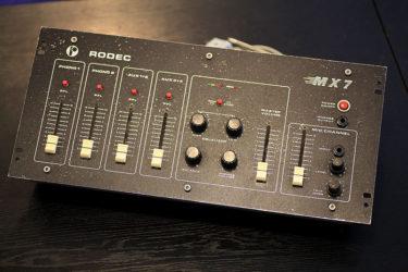 08月15日 – RODEC MX7 – オーバーホール