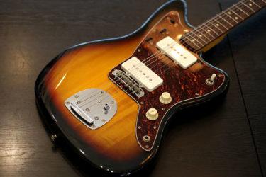 Squire Fender Jazzmaster – フレットすり合わせ、Buzz Stop Bar