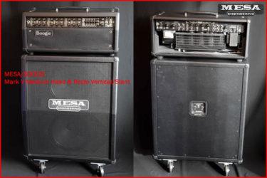 07月16日 – MESA/BOOGIE Mark V Medium Head & Recto Vertical/Slant Cabi 2×12 Set