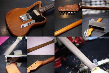 Fender Japan Offset Telecaster – ネックリシェイプ Neck Reshape