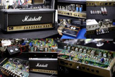 Marshall JCM800 Model 2205 Split Channel Reverb – オーバーホール、真空管交換