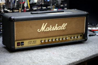 Marshall JCM800 Model 2205 Split Channel Reverb – オーバーホール