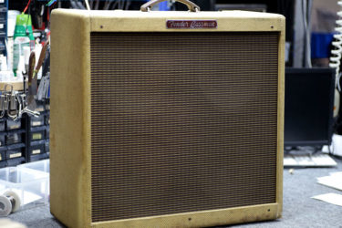 Fender '59 Bassman – POT交換、真空管交換