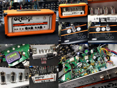 Orange TH30 – 真空管交換