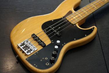 Fender Japan JB-77MM – フレットすり合わせ、プリアンプ交換