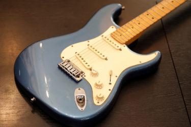 Fender Custom Shop Classic Strat 2005 – POT&ナット交換