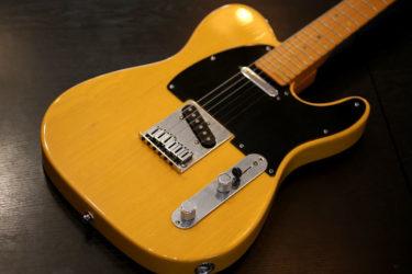 Fender USA Fender American Deluxe Telecaster N3 – ピックアップ交換、ナット交換