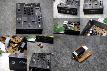 Pioneer DJM-400 – ヘッドフォンジャック交換
