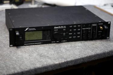 Fractal Audio Axe-FxⅡXL – メンテナンス