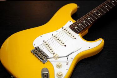07月21日 – Fender Japan Strat / 1987 Yellow