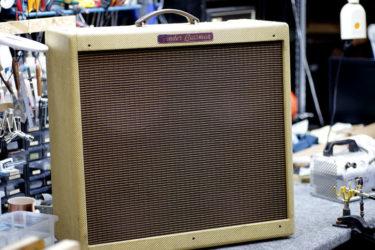 Fender '59 Bassman – メンテナンス、真空管交換