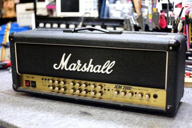 08月08日 – Marshall JCM2000 TSL100 – 真空管交換 バイアス調整