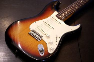 Fender Mexico Stratocaster – ピックアップ交換 Fender Noiseless