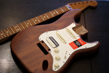 Warmoth Body&Fender Neck – コンポ―ネント 組み込み