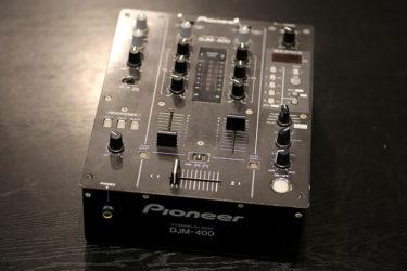 09月16日 – Pioneer DJM-400 ヘッドフォンジャック修理