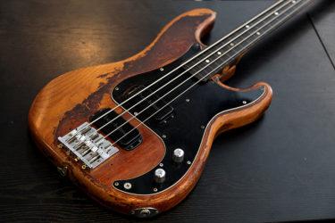 08月26日 – Fender Old PJ Bass and Neck 調整