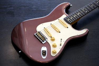 07月27日 – Fender Japan ST62-TX MH BMT – フレット交換