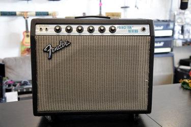 10月08日 – Fender Princeton Reverb 1972Vintage – レストア・オーバーホール