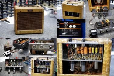 Fender Tweed Champ 5E1 ツイードチャンプ – オーバーホール